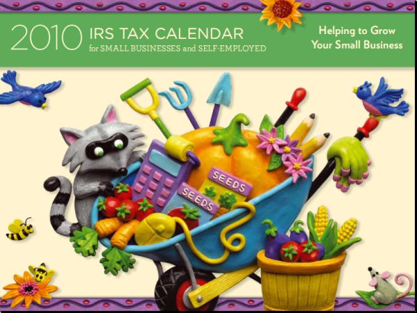 2010 Tax Calendar